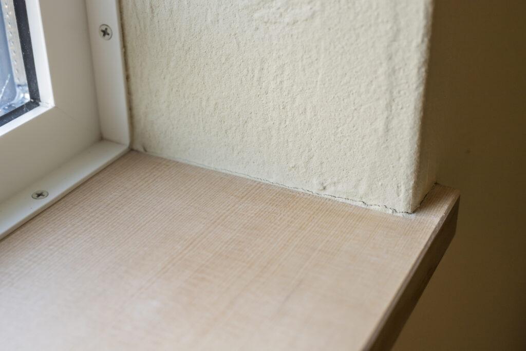 塗り壁ヒビ割れ
