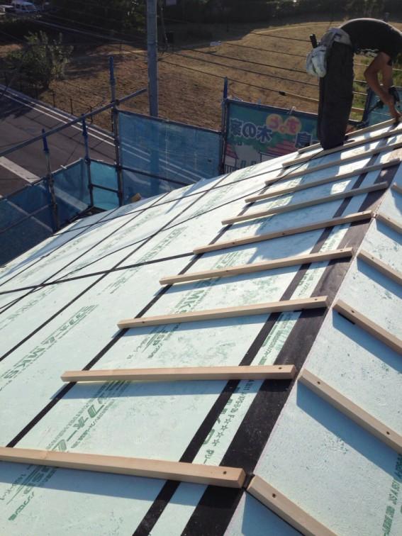 外断熱屋根通気垂木