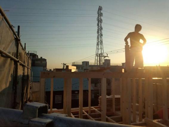 大工職人の建前