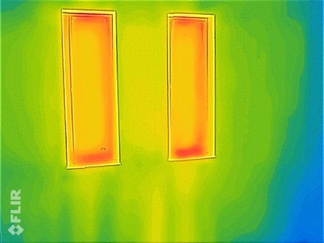 高性能窓熱画像