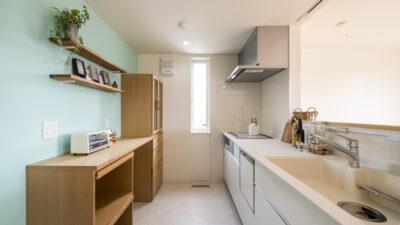 新築注文住宅のキッチン